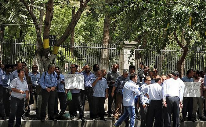 فراخوان به تجمع اعتراضی کارگران در تهران