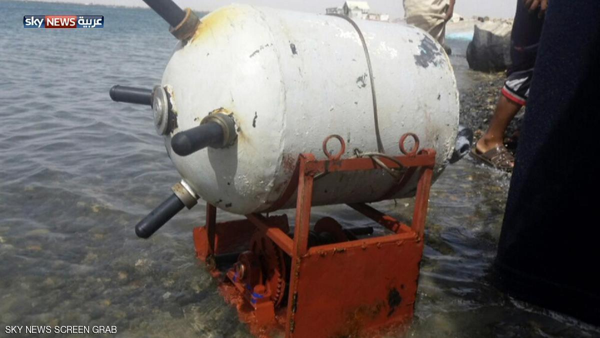 مین گذاری دریای سرخ توسط سپاه پاسداران ایران
