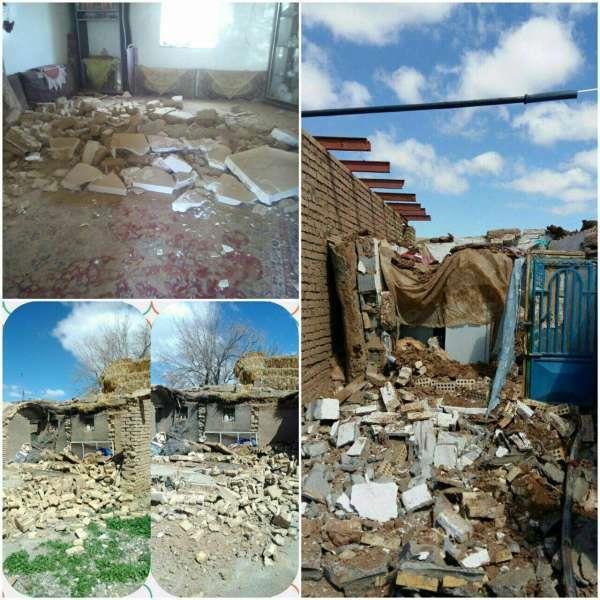 تصاویری از وقوع زلزله در خراسان رضوی ایران +ویدیو