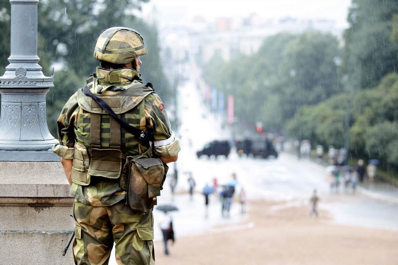 کشف یک بمب توسط پلیس در اسلو پایتخت نروژ
