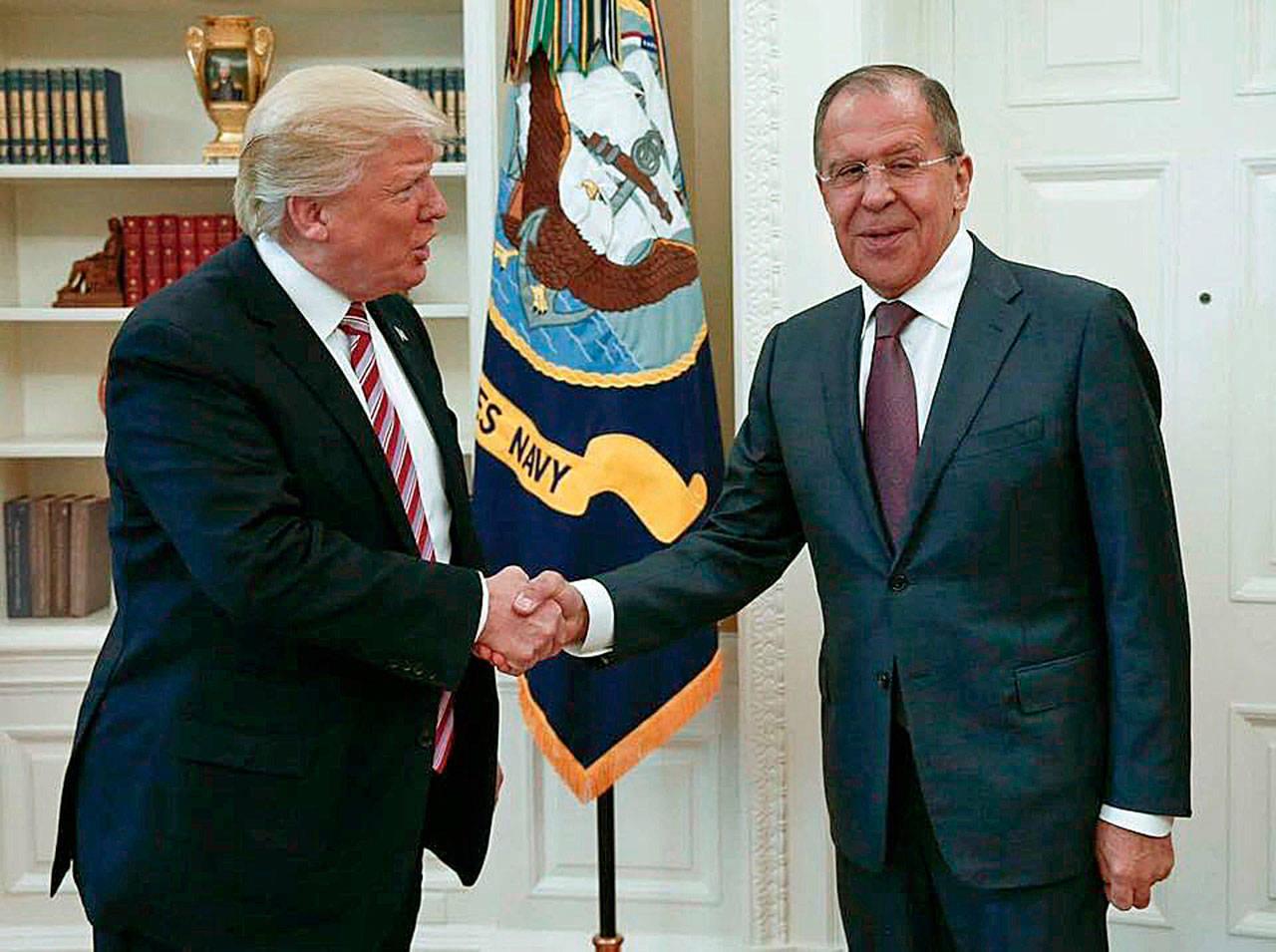 دونالد ترامپ از مسکو خواست که بشار اسد، ایران و گروه های مسلح مورد حمایت او را مهار کند