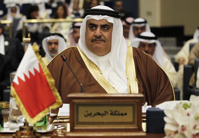شیخ خالد بن احمد آل خلیفه وزیر خارجه بحرین