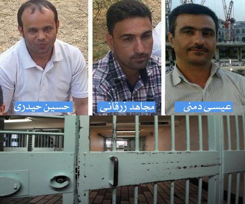 صدور احکام ظالمانه حبس و تبعید از سوی دادگاه انقلاب علیه سه تن از روزنامه نگاران عرب در احواز