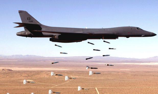 حمله هوایی ائتلاف بین المللی به نیروهای وابسته به رژیم اسد