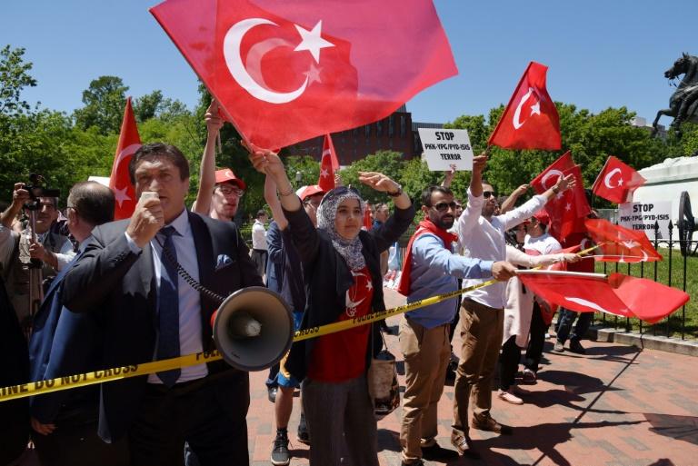 آمریکا دستور بازداشت محافظان اردوغان را صادر کرد