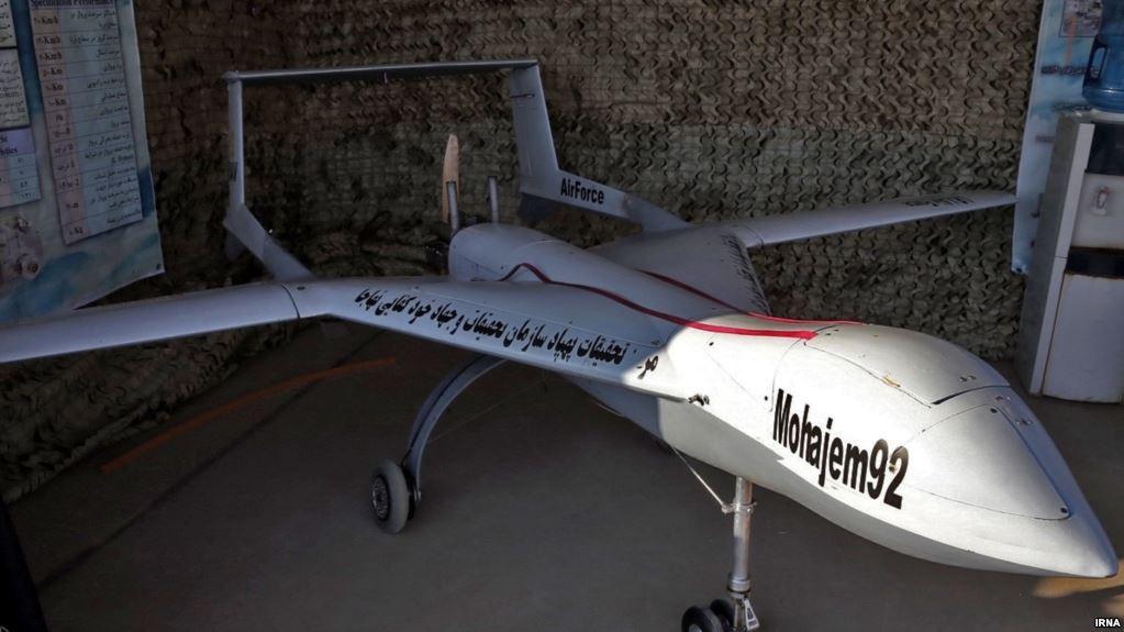سرنگون شدن یک پهپاد ایرانی توسط نیروی هوایی پاکستان