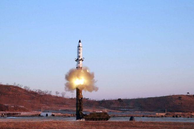 کره شمالی موشک بالستیک جدیدی را آزمایش کرد