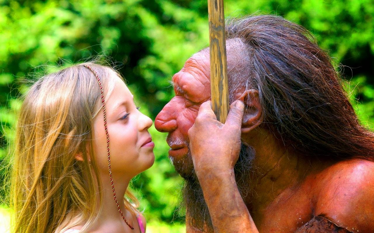 گذار بین نئاندرتال ها و گونه های انسانی