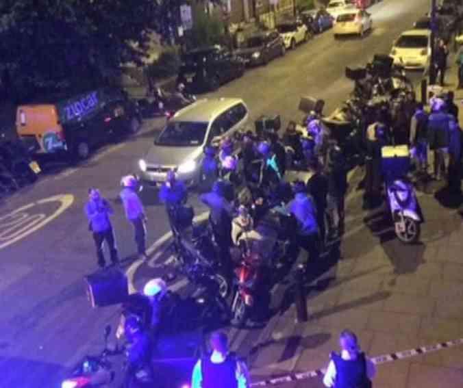 پنج حمله اسید پاشی در عرض کمتر از ۹۰ دقیقه در شرق لندن
