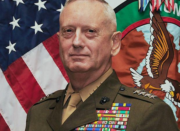 جیمز ماتیس، وزیر دفاع آمریکا