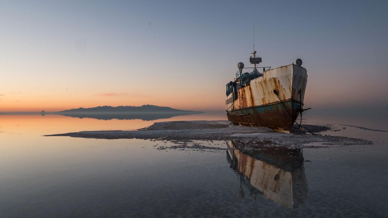 خشکی دریاچه ارومیه، جان ۱۴ میلیون نفر را تهدید میکند