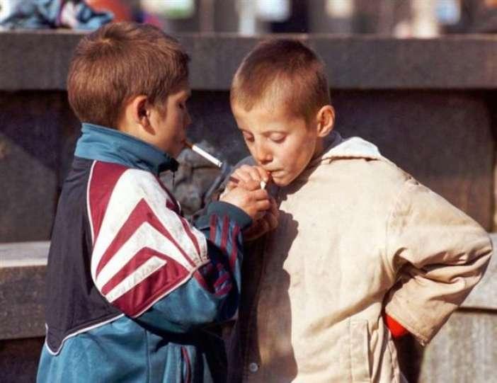 با فرزند خود در مورد سیگار صحبت کنید