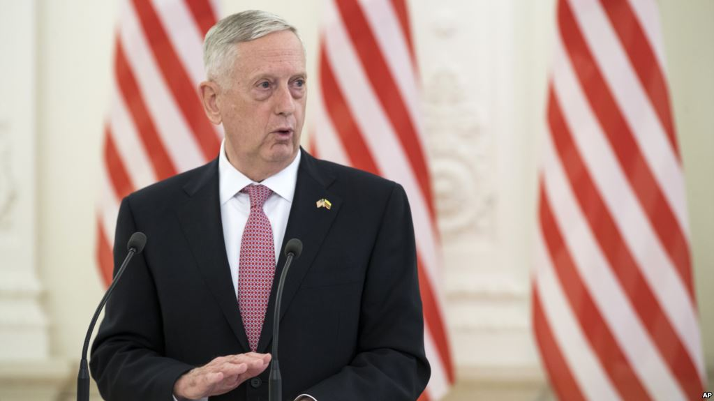وزیر دفاع آمریکا: کره شمالی از اقدامی که موجب سقوط رژیمش شود، دست بردارد