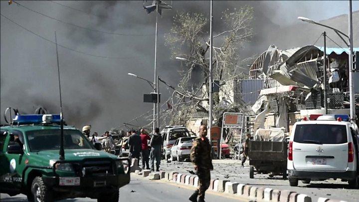 انفجار در  کابل ده ها کشته و صدها زخمی برجای گذاشت