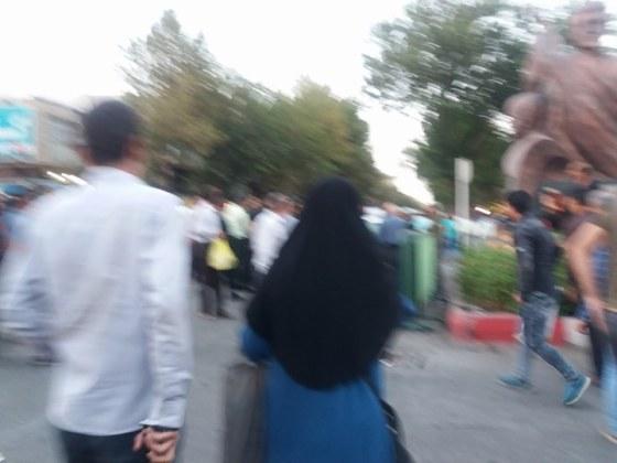 مقاومت و استواری مردم کورد در اعتراض به کشتار کولبران به روایت تصویر