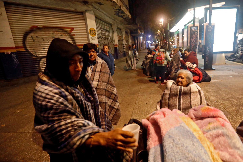وقوع زلزله در مکزیک ده ها کشته و زخمی برجای گذاشت + تصویر