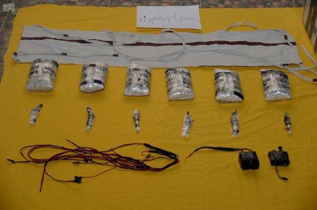تصویری از اسلحه و مواد منفجره ضبط شده