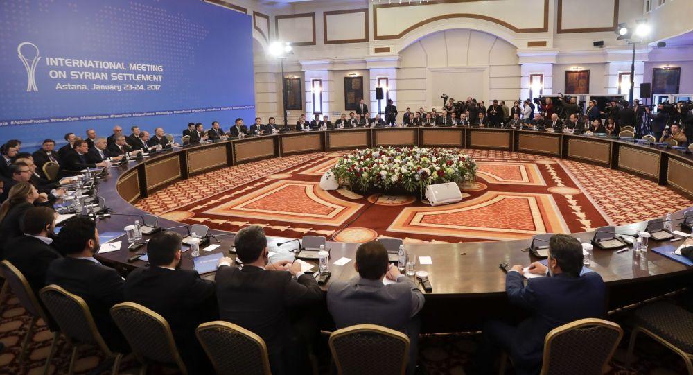 نگرانی آمریکا از مشارکت ایران به عنوان ضامن آتشبس سوریه در مذاکرات آستانه