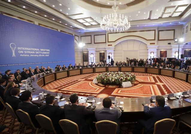 ششمین اجلاس بینالمللی «آستانه» در باره صلح سوریه آغاز شد