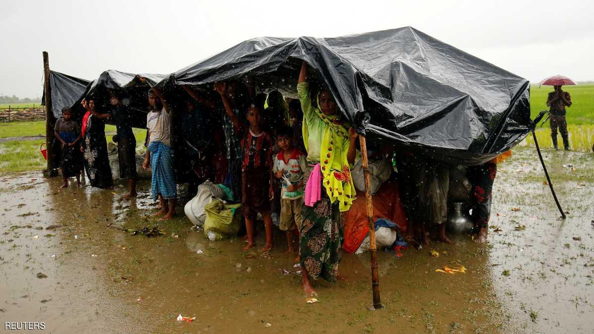 ابراز نگرانی رهبر میانمار برای مسلمانان روهینگیا
