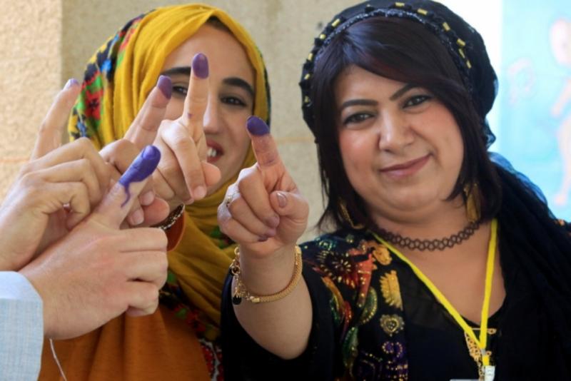 آغاز همه پرسی استقلال اقلیم کوردستان