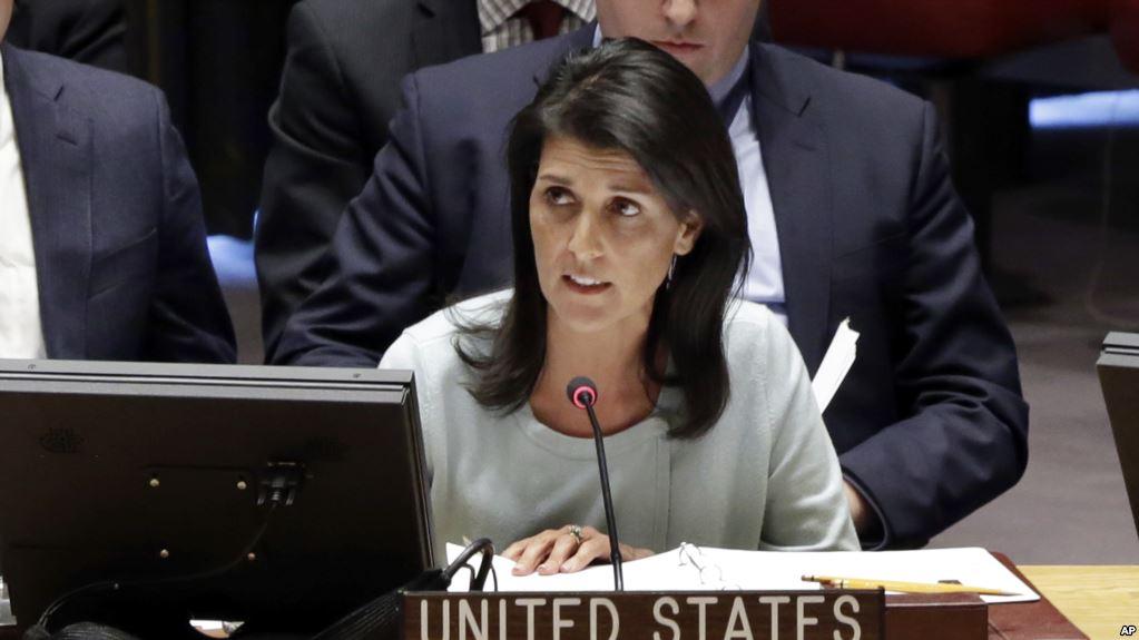 هیلی: انتقال سیاسی قدرت در سوریه بدون نفوذ ایران و اسد خواهد بود