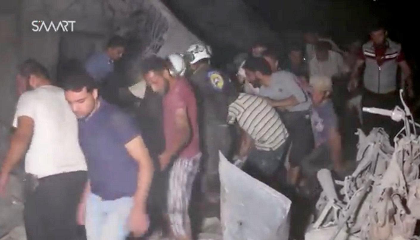 دیده بان حقوق بشر: آغاز عملیات خارج کردن قربانیان غیرنطامی پس از توقف بمبارانهای خونین در ادلب
