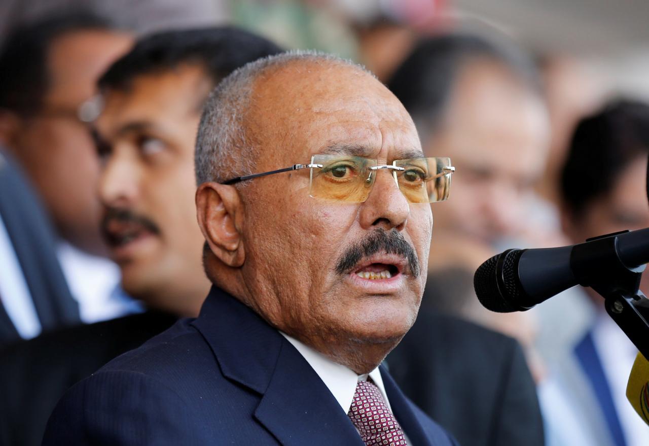 عبدالله صالح به حوثیها: شما مزدور و تاجران جنگ هستید