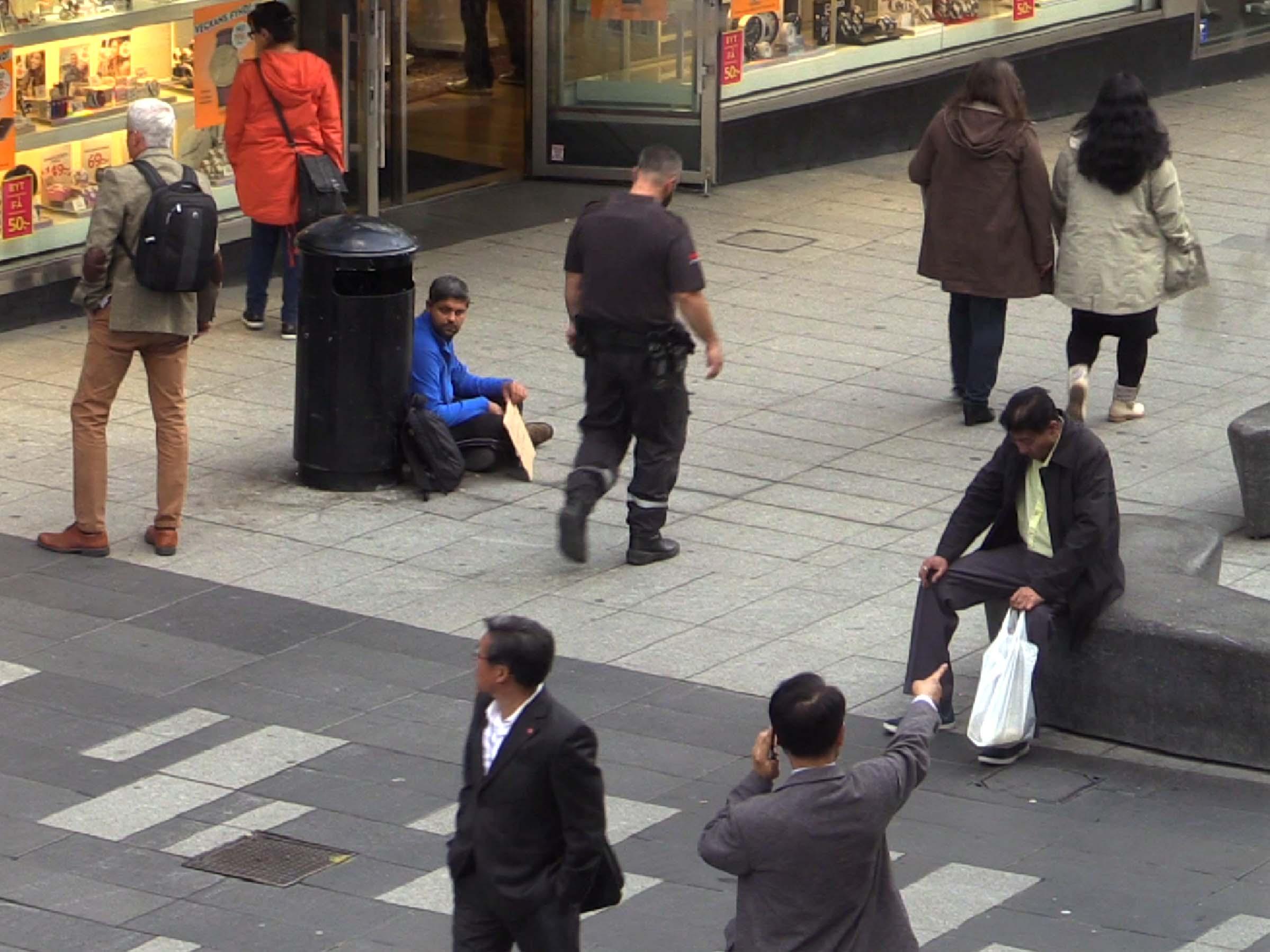 دستگیری چندین نفر به جرم قاچاق انسان و گدایی سازمانیافته