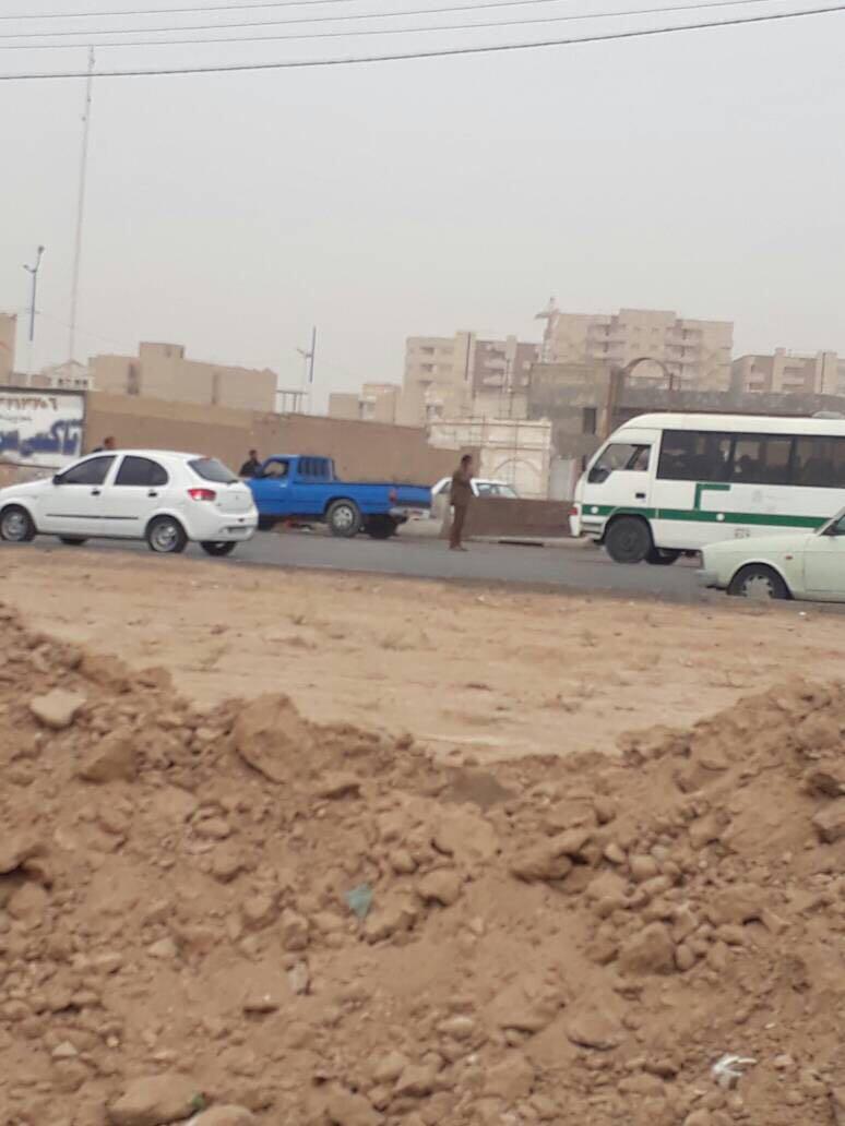 هجوم نيروى انتظامى و إجرائيات شهردارى به بساط فروشان در احواز + ویدئو