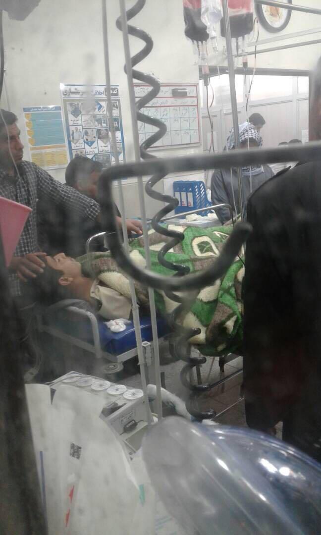 دو جوان عرب در منطقه مشداخ در اثر انفجار مين جنگى مجروح شدند