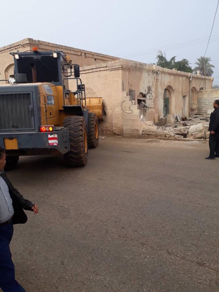 تخریب سینمای نفت دارخوین با قدمت 109 ساله