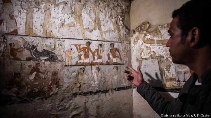 کشف مقبره ۴ هزار ساله یک زن کاهن در مصر