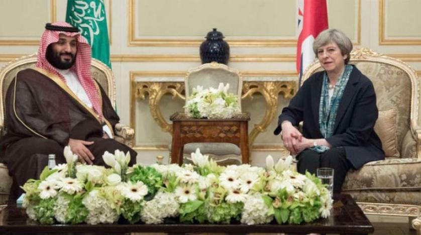 ولیعهد سعودی در سفری رسمی وارد پایتخت بریتانیا شد