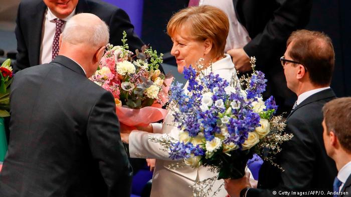 آنگلا مرکل برای چهارمین بار صدراعظم آلمان شد