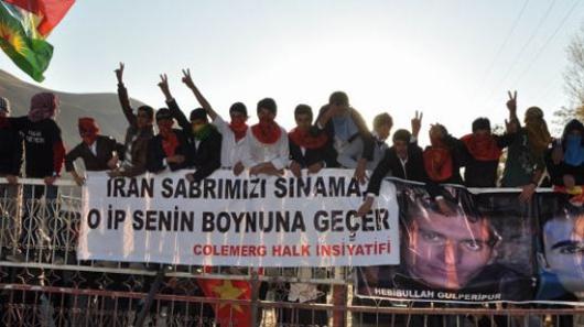 اعتراض به اعدام های ایران، در کردستان عراق و ترکیه