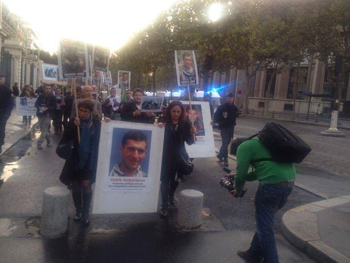 حمله جوانان خشمگین کُرد به سفارت ایران در پاریس+ عکس