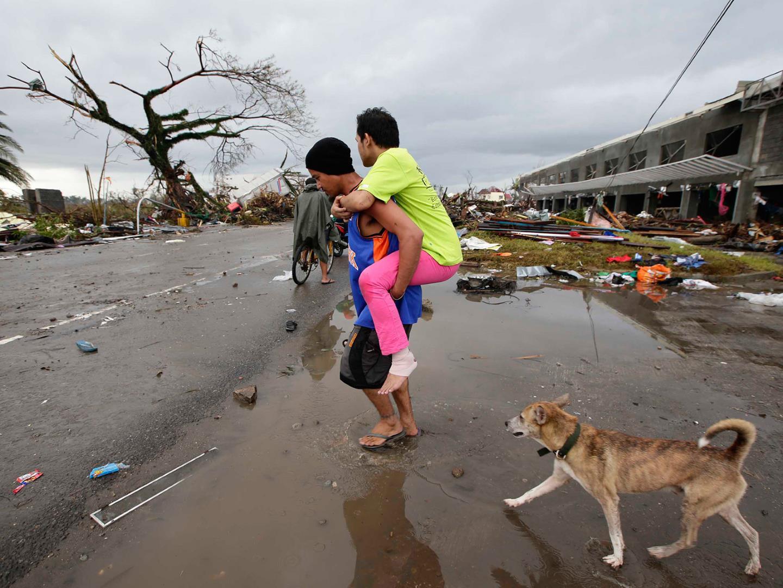 شمار قربانیان طوفان هایان فیلیپین از مرز ده هزار نفر گذشت