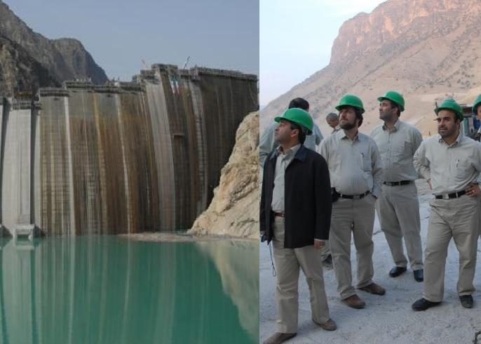 در پی ظهور ترکیدگی در جداره بتونی سد کارون 4 دو تیم فنی از اروپا وارد ایران شدند