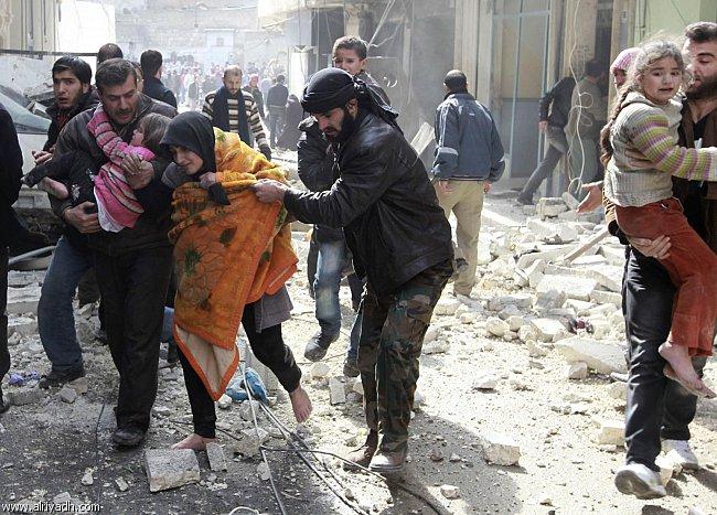 تعداد کشتهشدگان بمباران حلب به ۷۶ نفر رسید