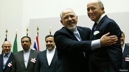 تردید فرانسه نسبت به توافق نهایی با ایران بر سر برنامۀ اتمی این کشور