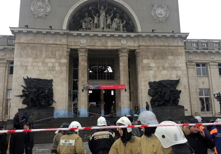 انفجار انتحاری يک بمبگذار زن در روسيه دستکم ۱۸ کشته داد
