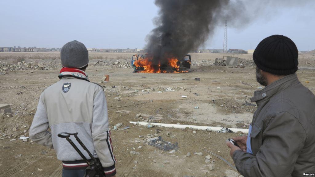 استفاده ارتش عراق از جت جنگنده علیه شبه نظامیان