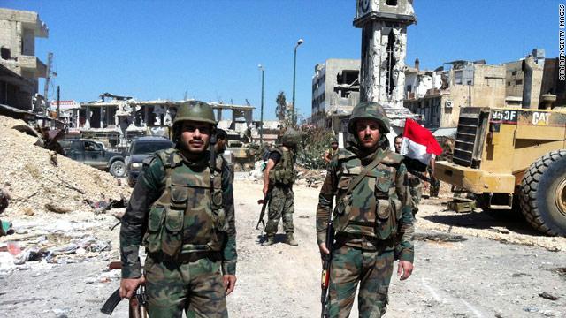 ارتش سوریه با استفاده از جنگ میان دوجناح مخالف رژیم، بخشهائی از شهر حلب را اشغال کرد