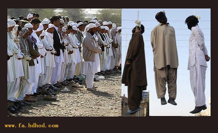 اعدام جنایتکارانه ١۵ زندانى دیگر بلوچ در بلوچستان