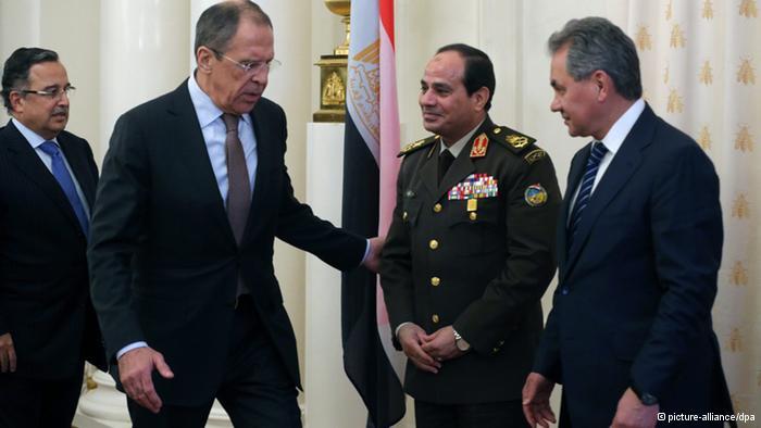 حمایت پوتین از نامزدی السیسی در انتخابات مصر