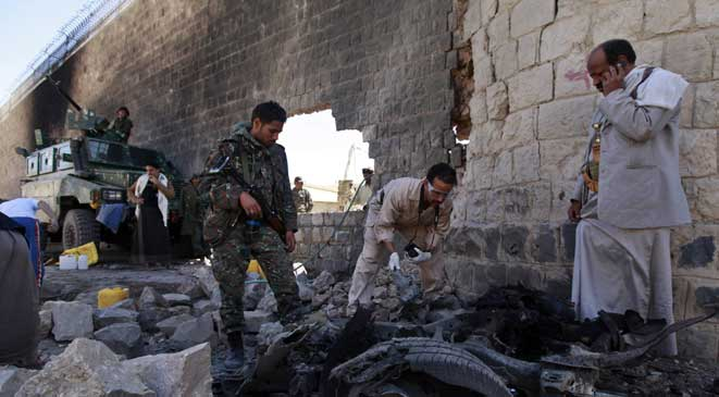 حمله به زندان مرکزی صنعا ١٠ کشته داد