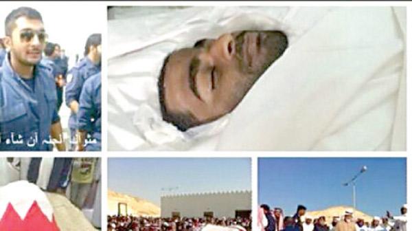مامور پلیسی که در حین ماموریت  در انفجار تروریستی اخیر بحرین  کشته شد