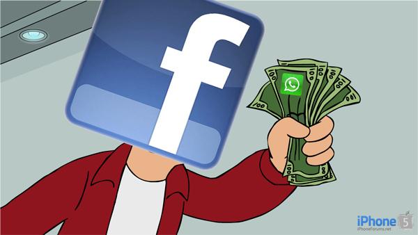فیس بوک ۱۹ میلیارد دلار برای خرید واتز اَپ می پردازد