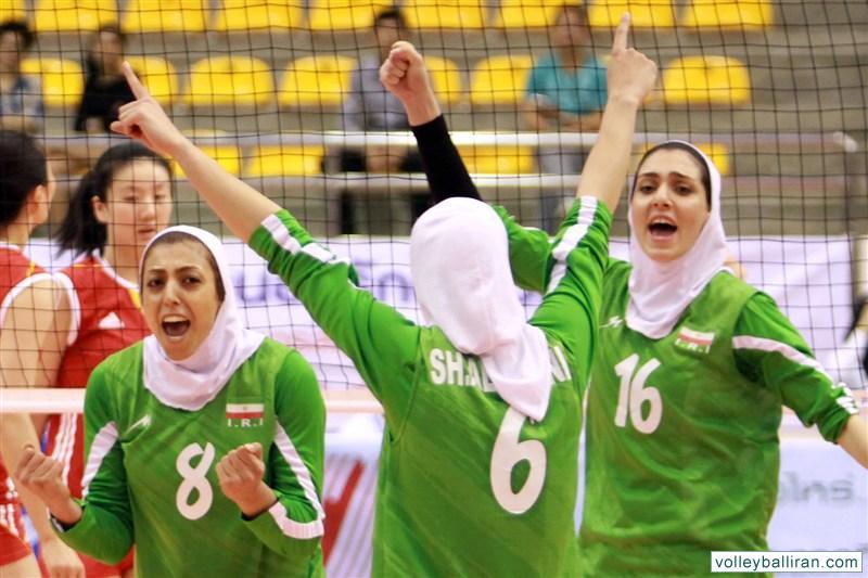 همگروهی والیبال ایران با چین و استرالیا در جام کنفدراسیون آسیا